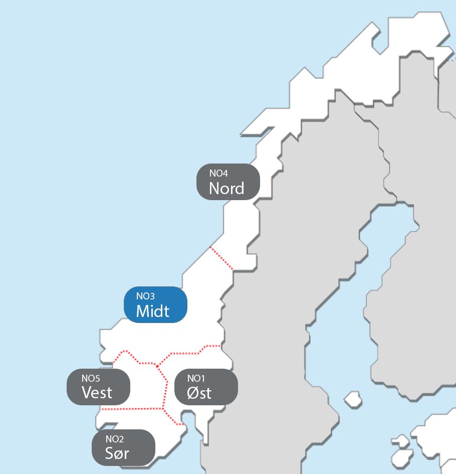 Strømregion Midt