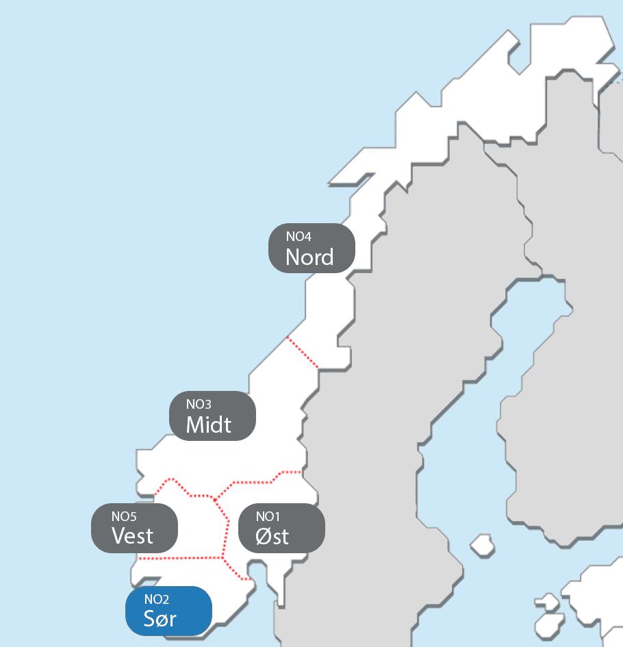 Strømregion Sør