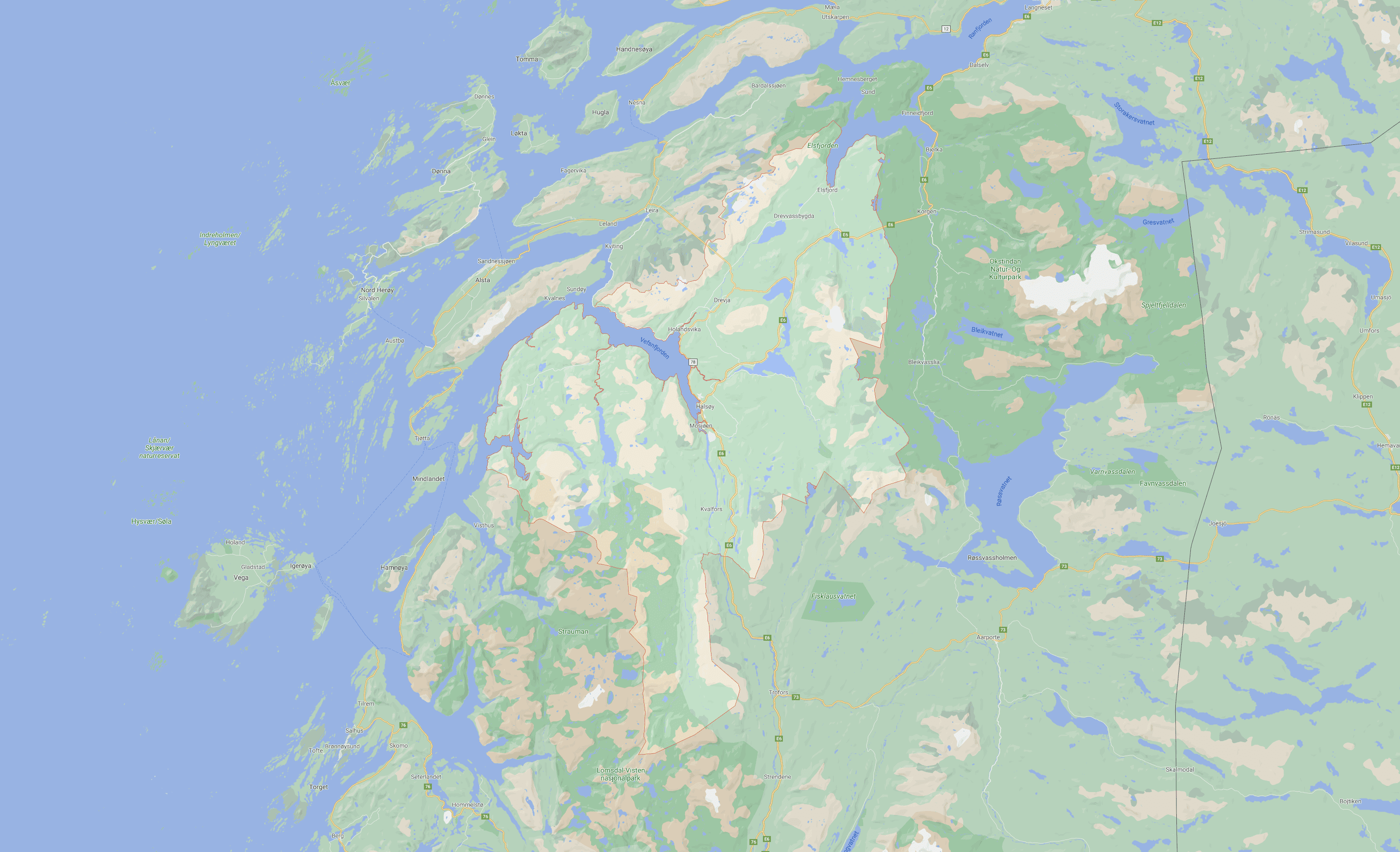 Strøm Vefsn kommune