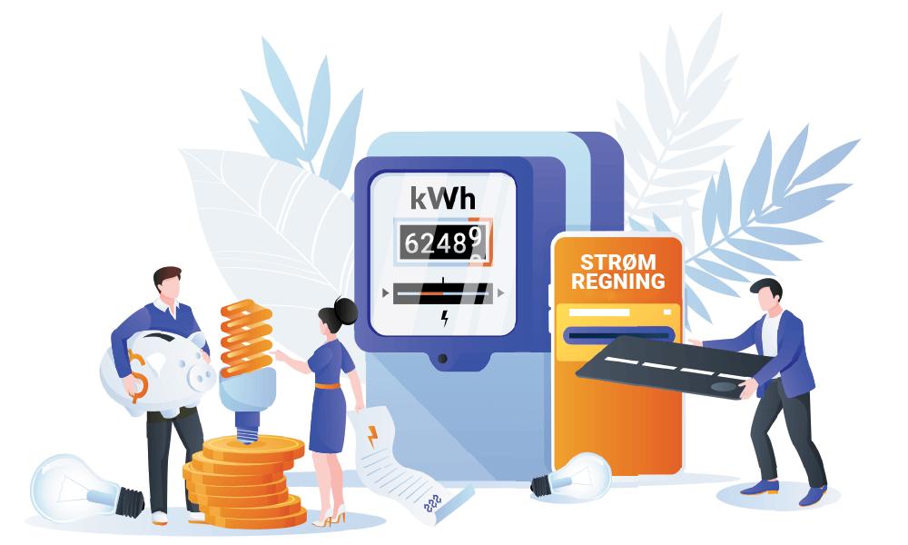 sjekk strømpriser